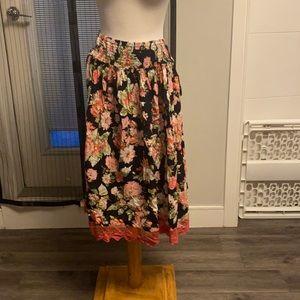 XL April Cornell maxi skirt